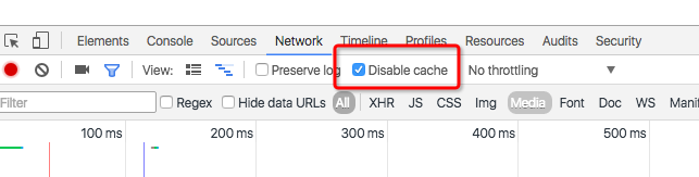 disable-cache